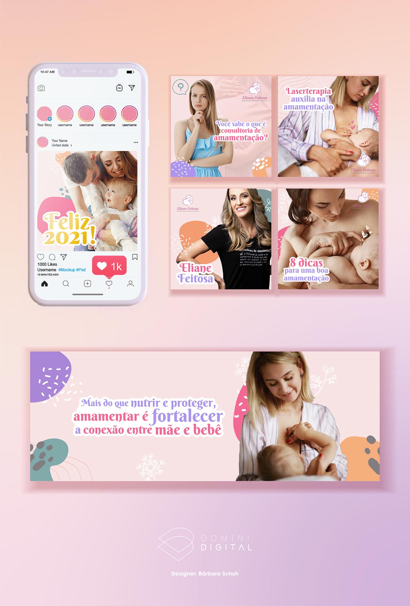 amamentação baby bebe Consultora materna doula mãe maternidade mother recém nascido social media