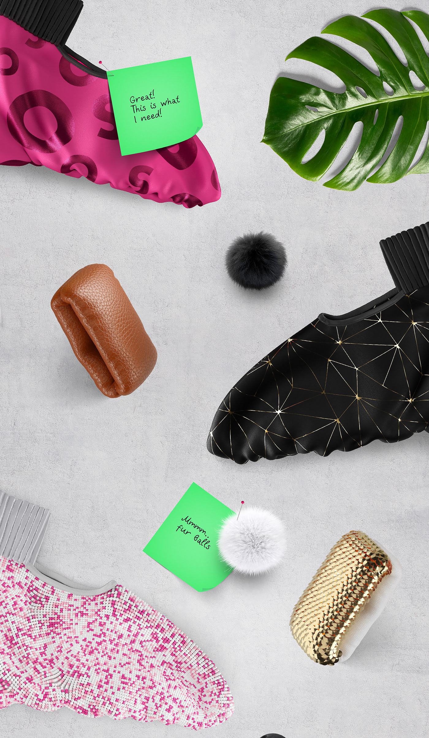 3D art concept design Fashion  footwear sneakers wanna