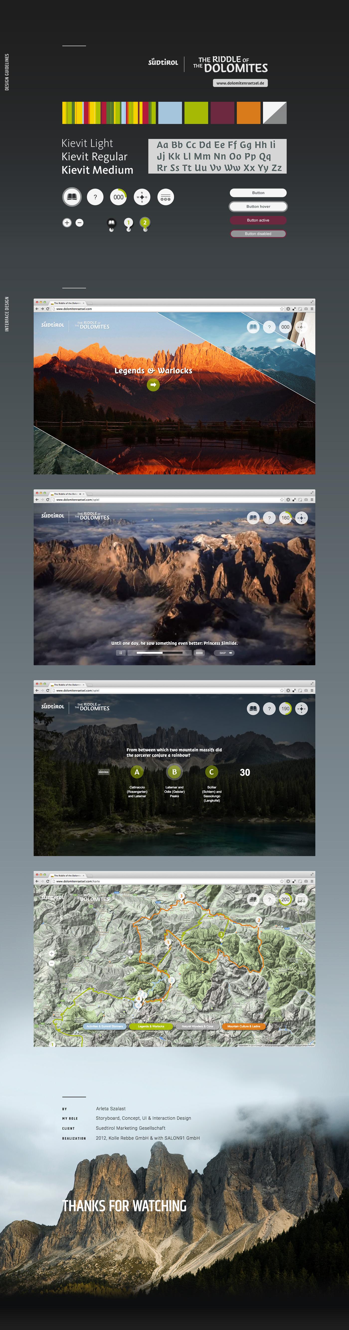 online game ui design Interaction design  ux design UI Web interactive Stroyboard concept