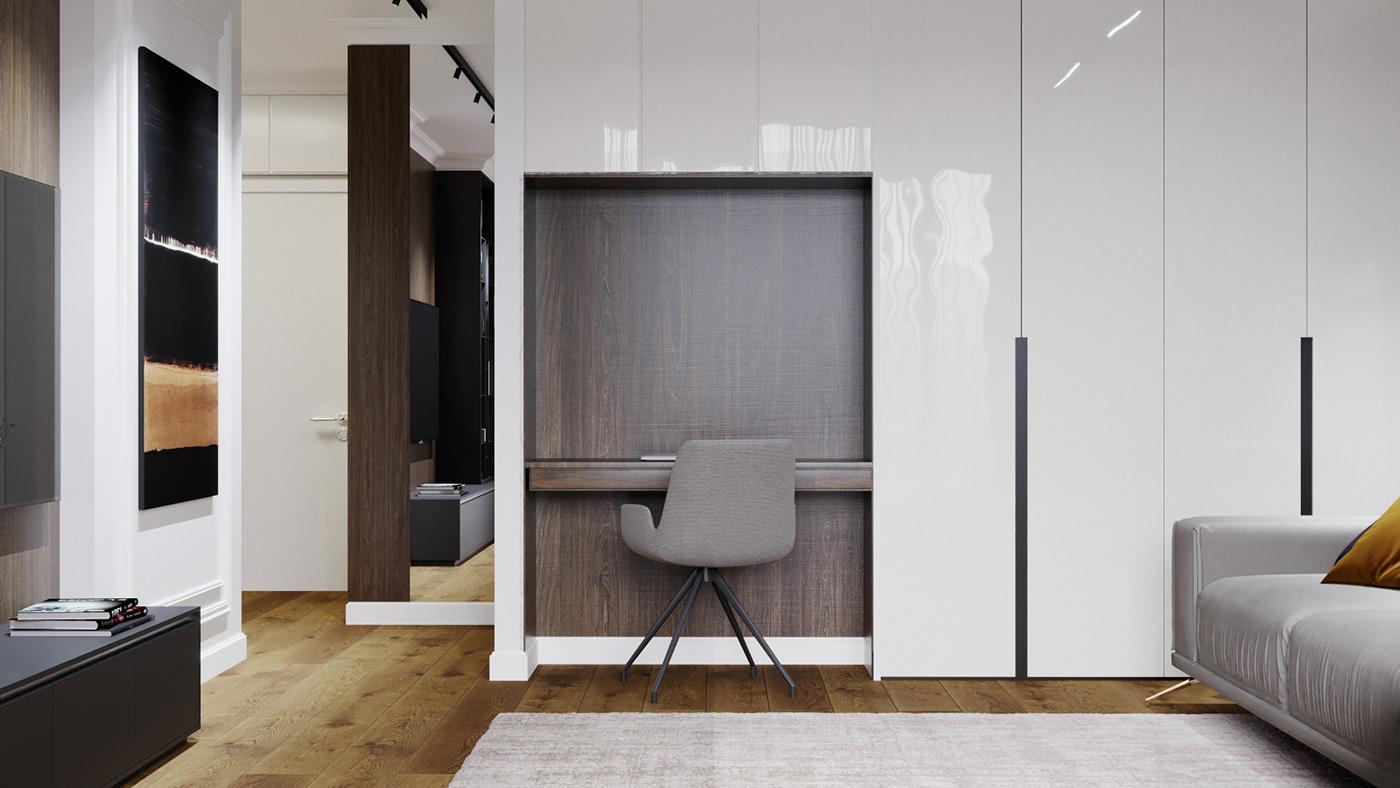apartment bucharest design Interior living