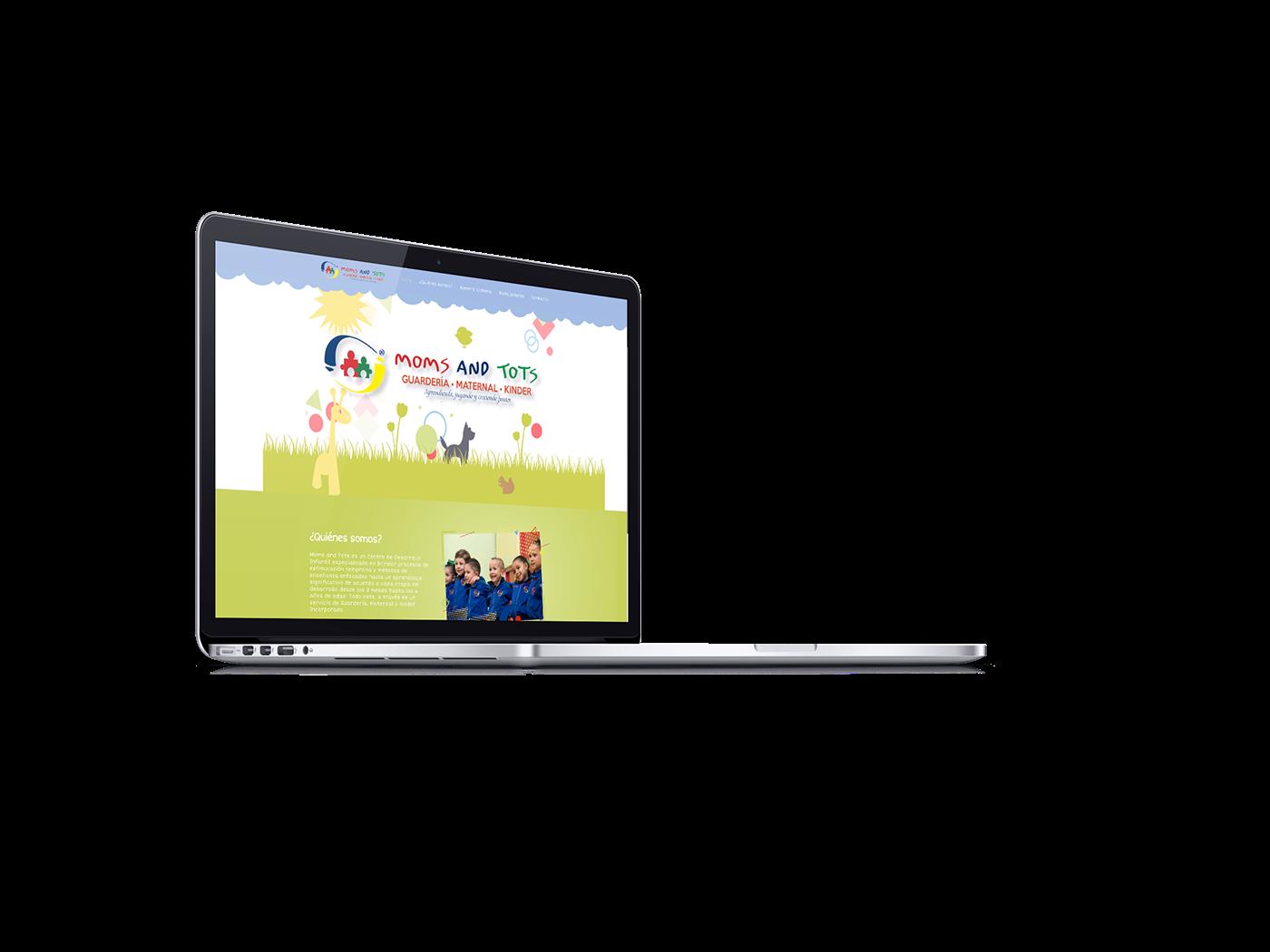 escuela kinder school Socialmedia UI UI/UX Web Webdesign wordpress
