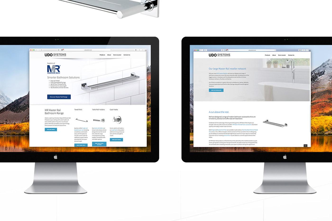 Udo Systems – Bathroom Brochure & Website Design on Behance