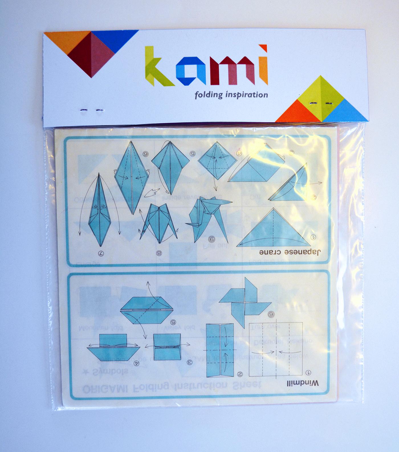 Kami: Origami Paper Company on Behance