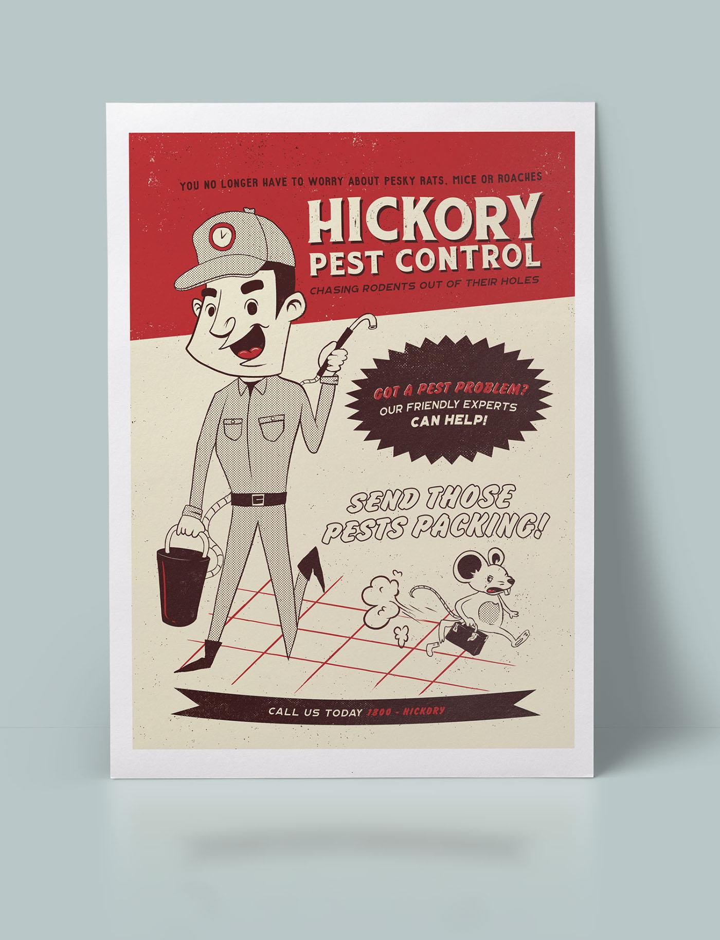 ILLUSTRATION  visual identity branding  publication stickers poster vintage nostalgia Fun