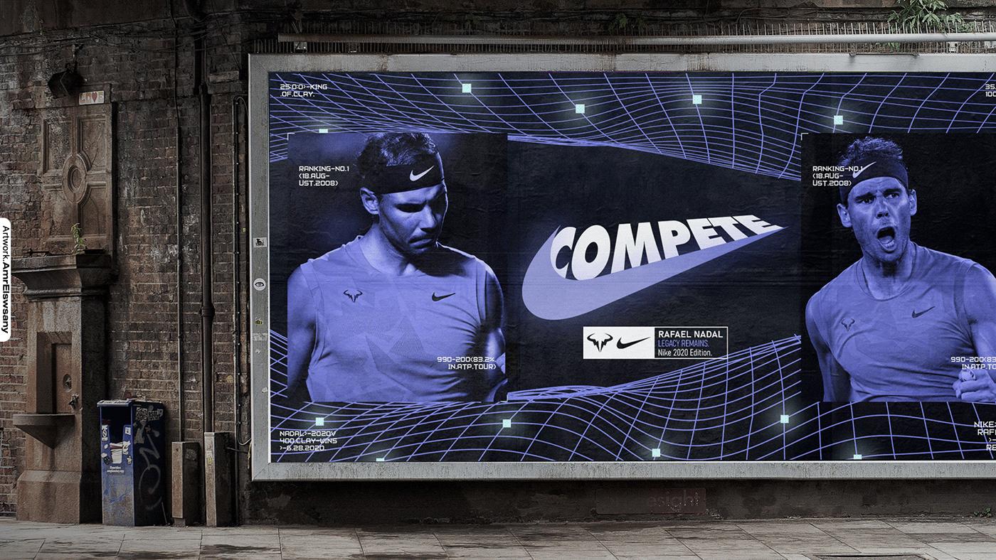 Rafael Nadal . Nike | Legacy Remains Chapter.2 on Behance