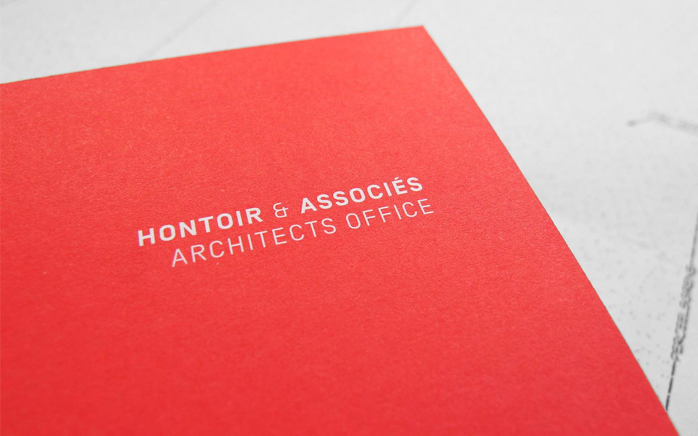 logo envelope stationary Rubber Stamps Corporate Identity corporate architects Office Business Cards identité graphique cartes de visite entête Cachet architectes