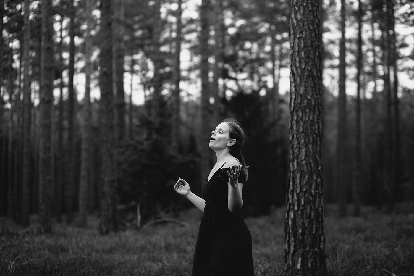 forest opera portrait Singer