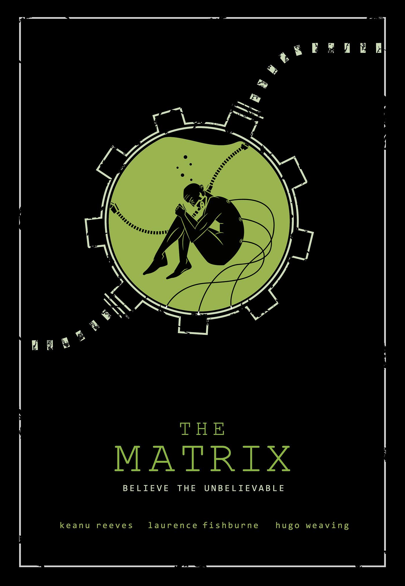 Fan Art Poster For The Matrix On Behance