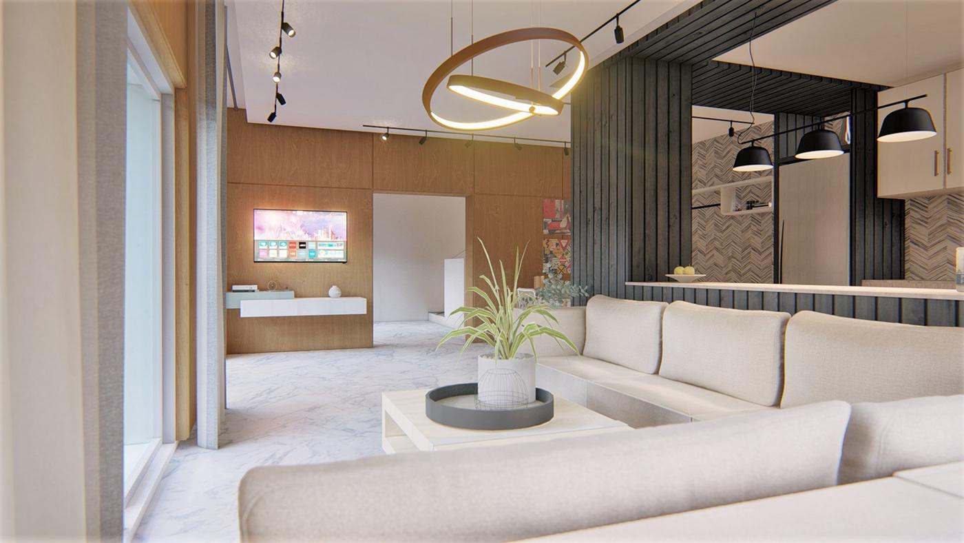 apartment architecture design Interior Interior-Design renovation