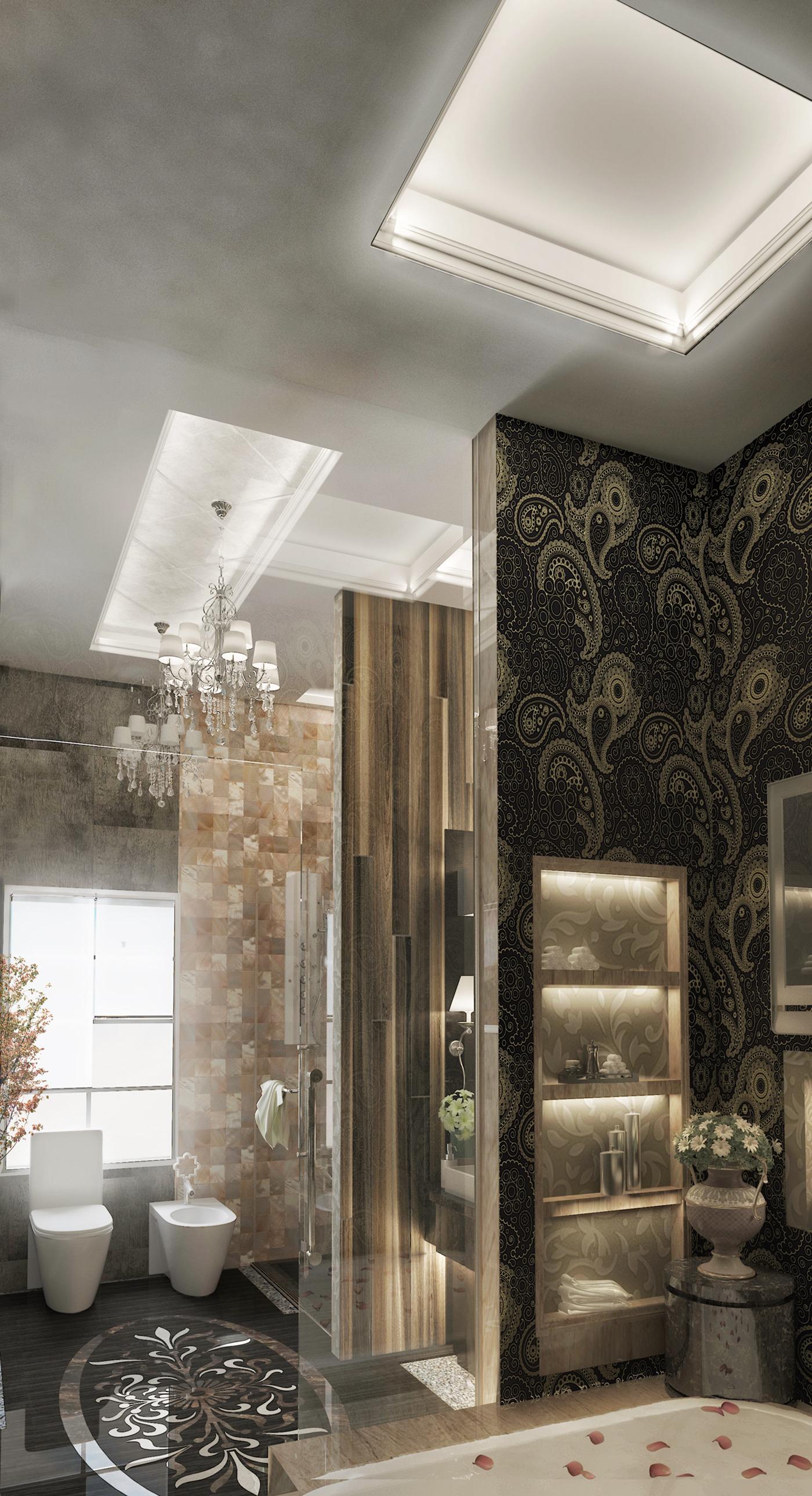 高質量的18張豪宅浴室欣賞