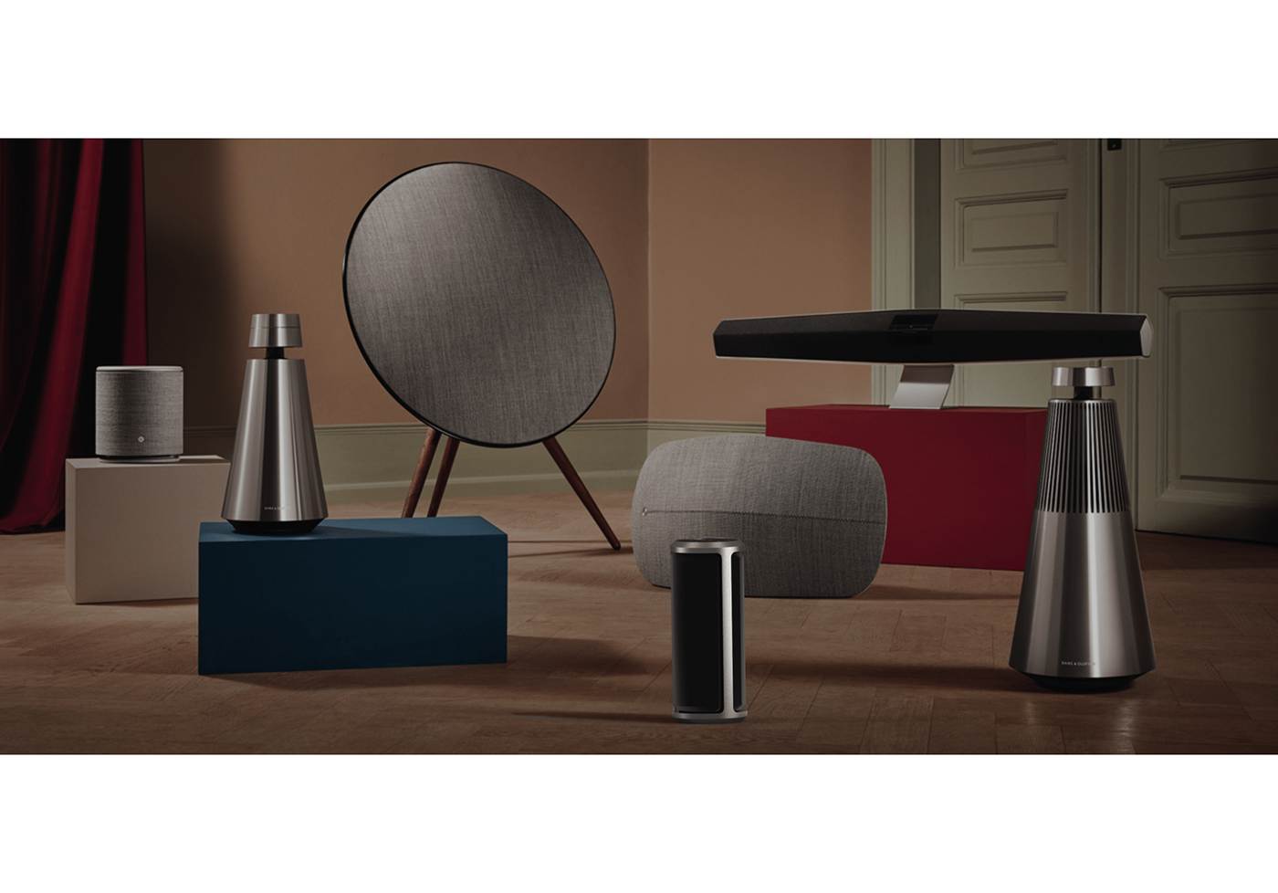 Bang & Olufsen speaker beo branding