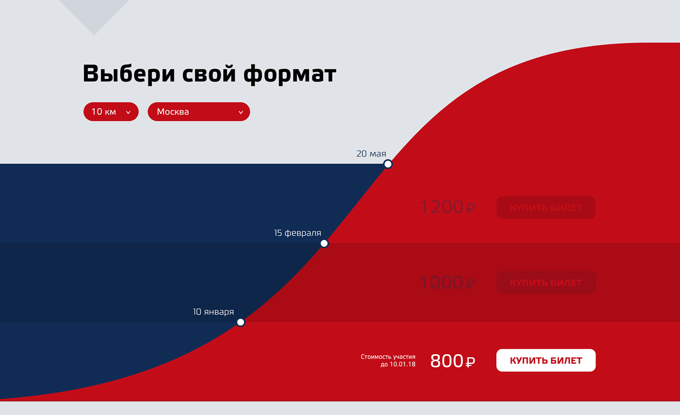 landing Web promo Website minimal sport flat animations desktop blue