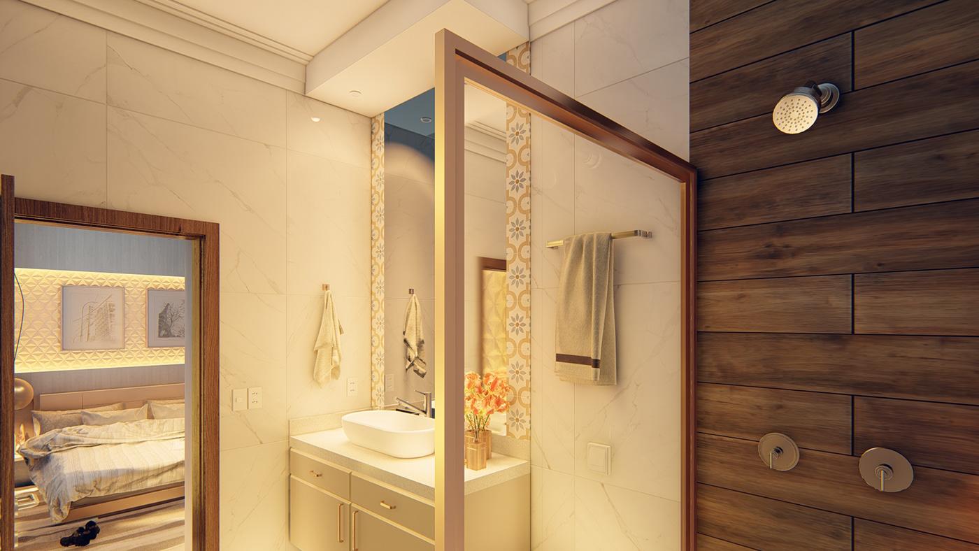 Image may contain: indoor, wall and bathtub