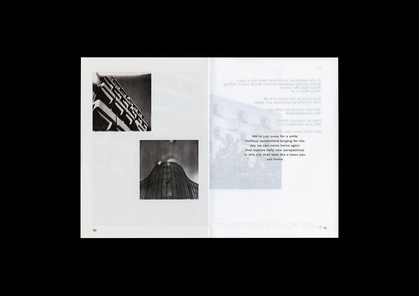 Mini Zine magazine analog Ghent POLAROID like your footprint architecture
