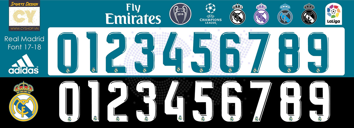 Real Madrid 2017 Font – Idées d'images à la club