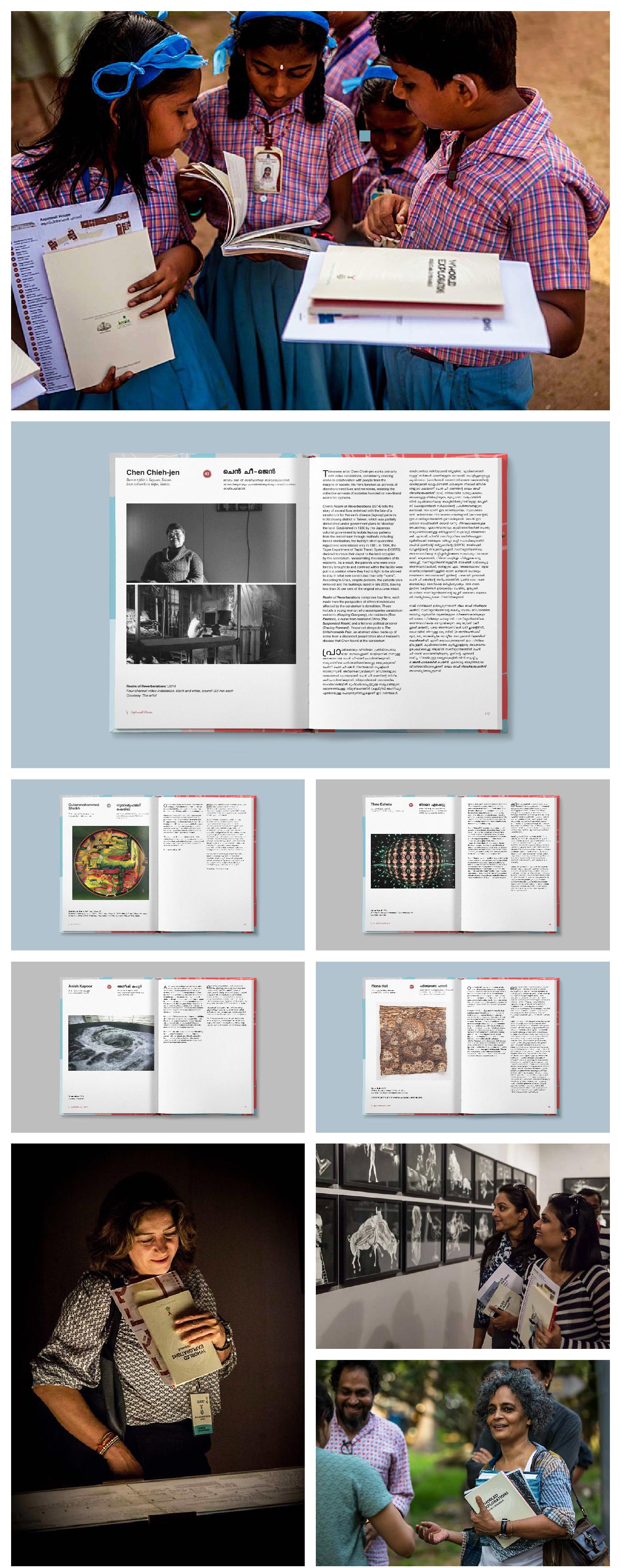Whorled Explorations Kochi-Muziris Biennale 2014 Short Guide Exhibition  Kochi Southern India 95 artists 30 countries kerala Jitish Kallat
