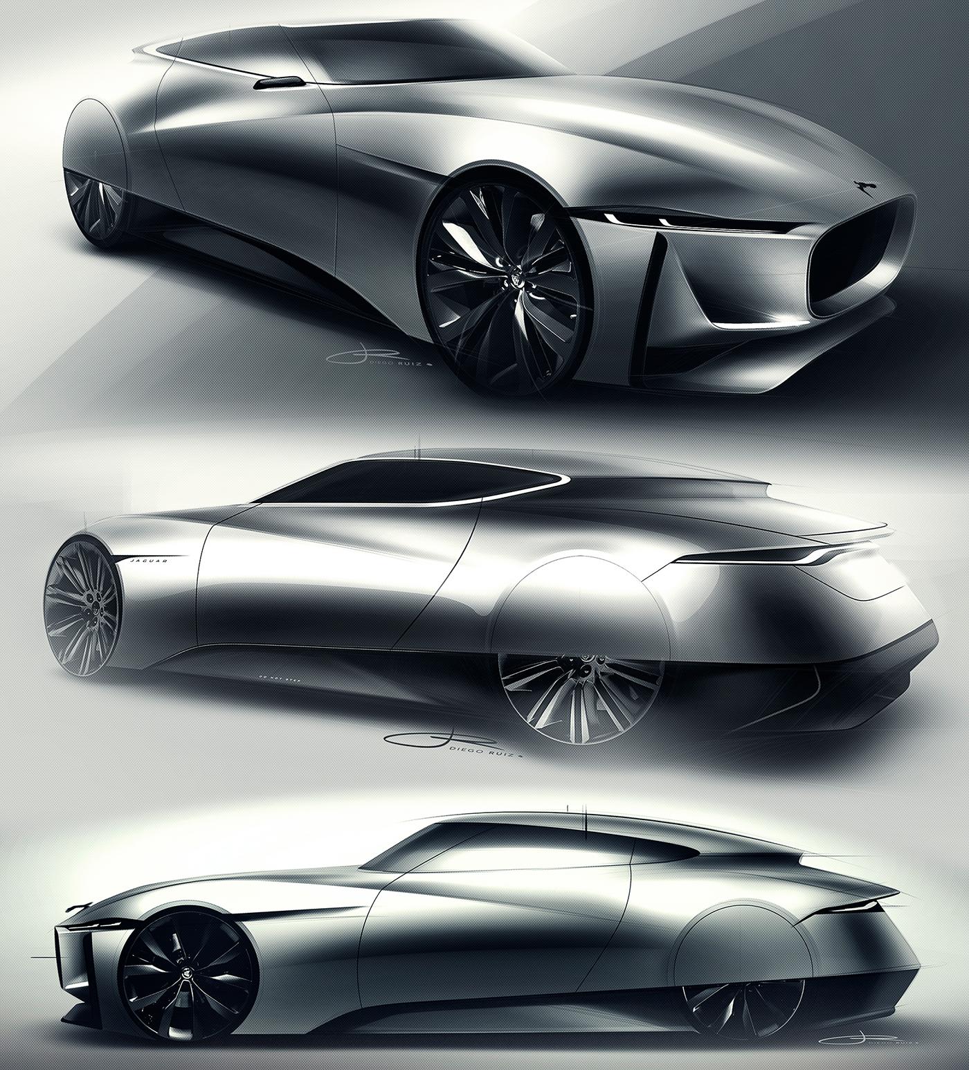 Jaguar E Luxury Concept On Behance