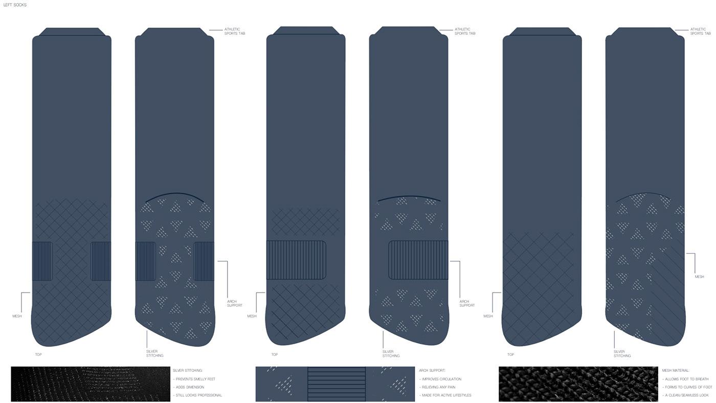 design dress product socks