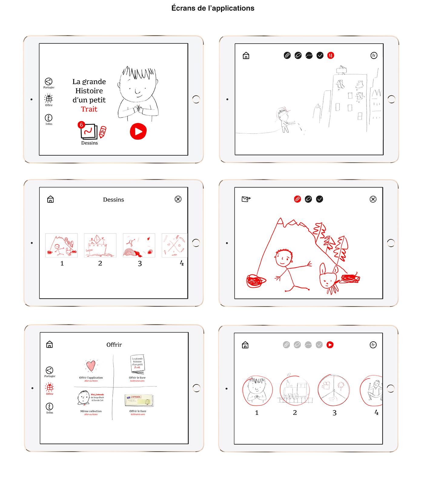 Livre interactf UI bloch transmedia enfants