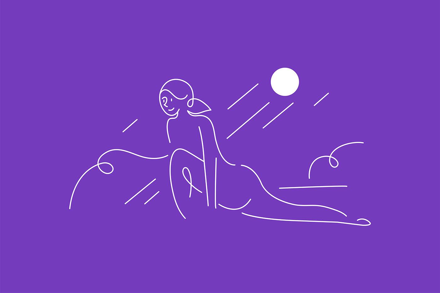 branding  gradients graphics Health Packaging purple rebranding supplements UTIS women