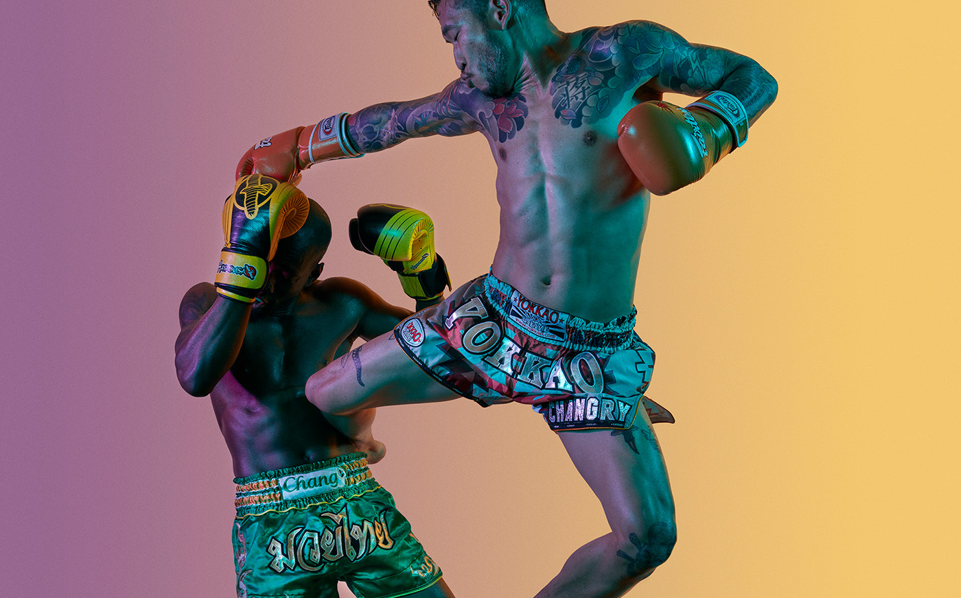 sport Photography  Boxing boxers colors