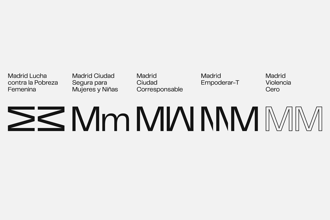 atipus barcelona brand city design graphic design  logo Logotype madrid