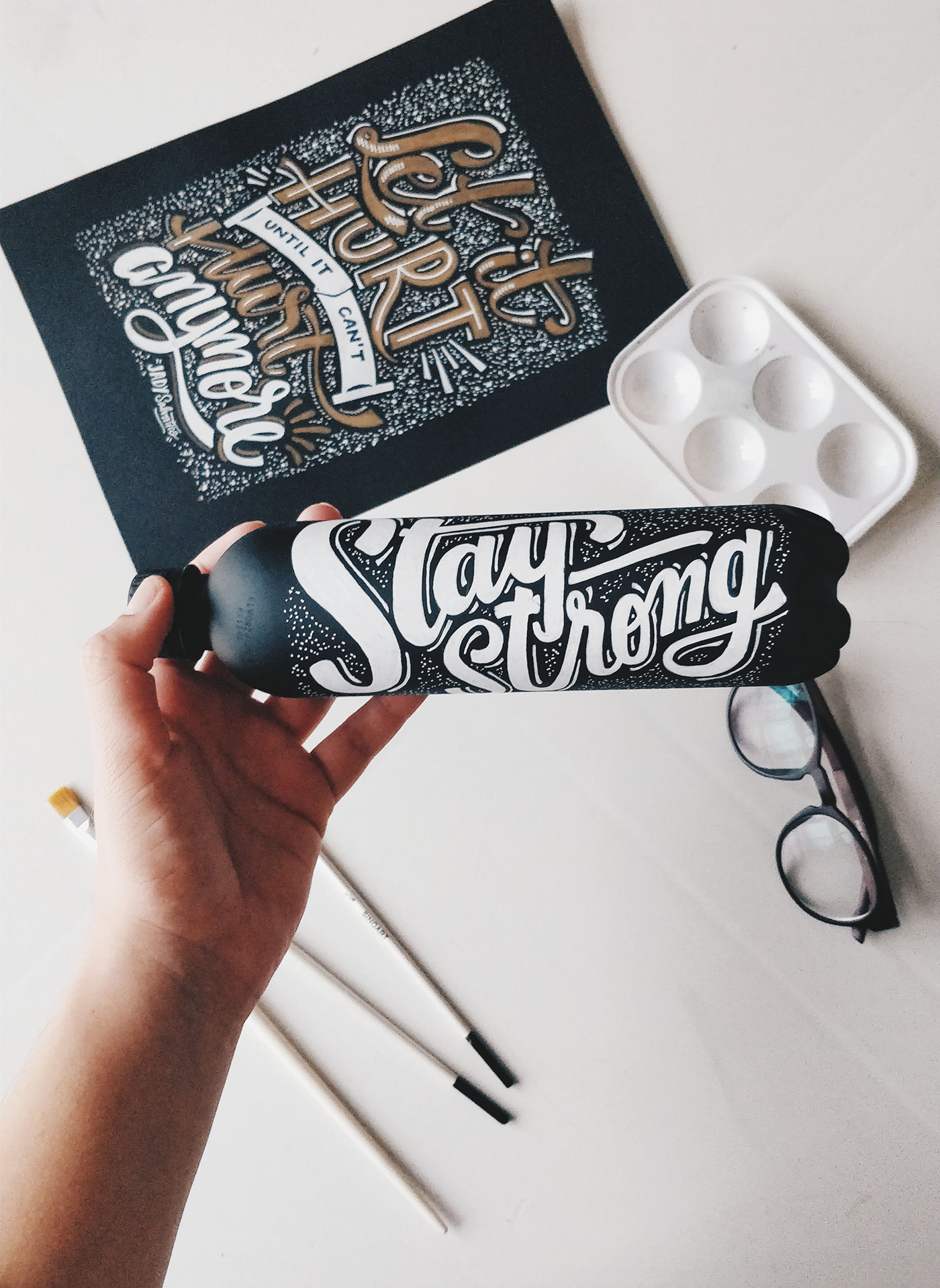 typography   lettering handmade crafts