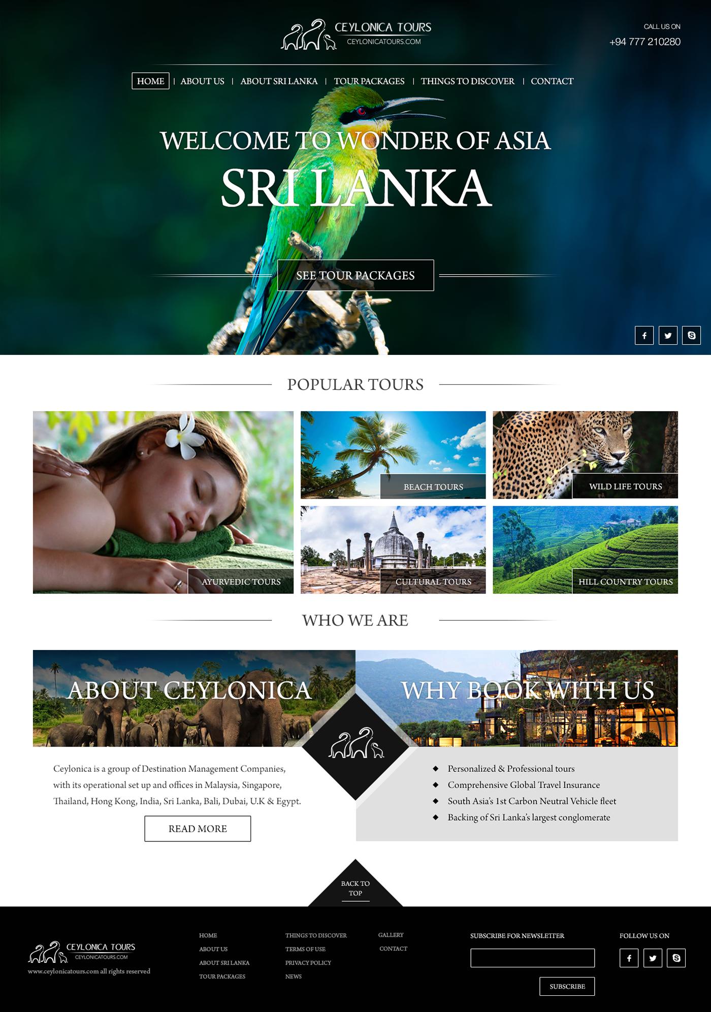 tourism Hospitality Sri lanka Travel wildlife Nature