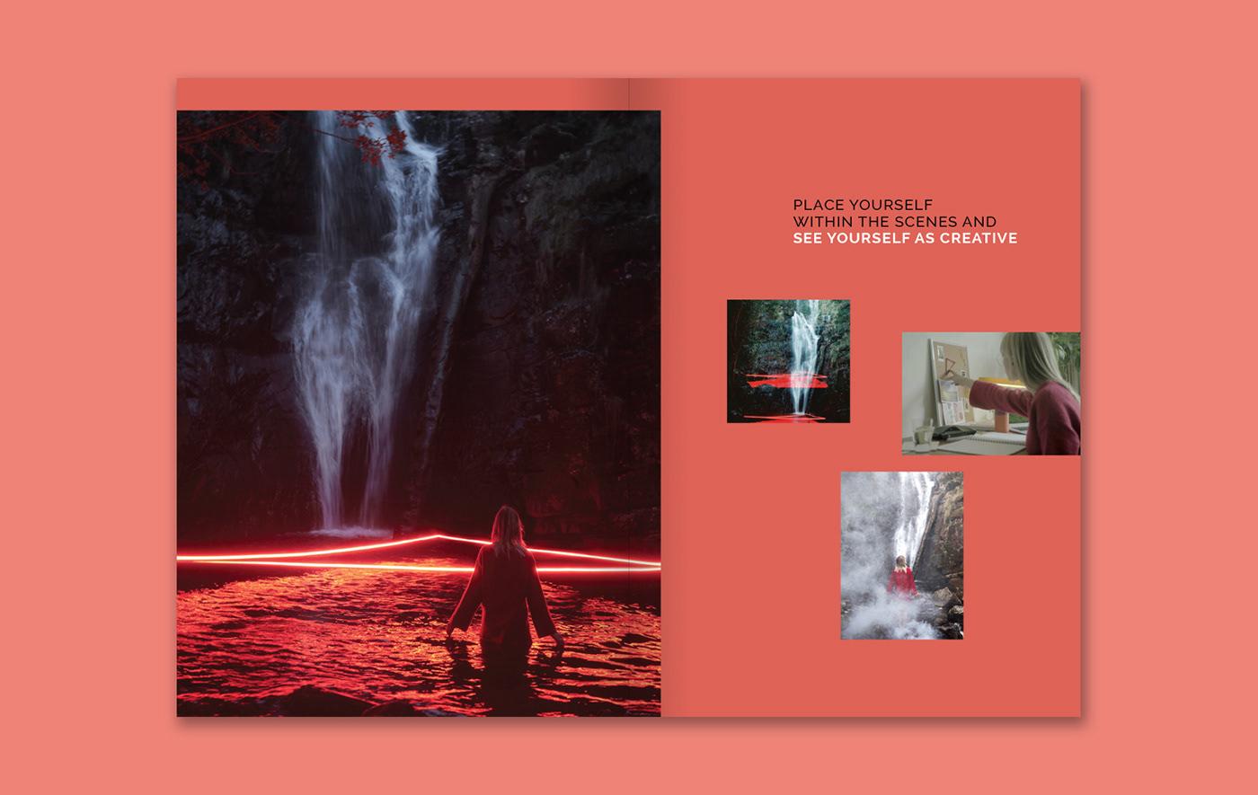 Image may contain: screenshot and waterfall