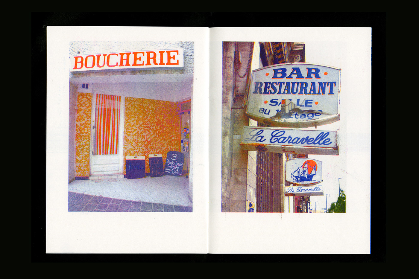 risograph signing Photography  print Zine  france paper graphic design  self publishing