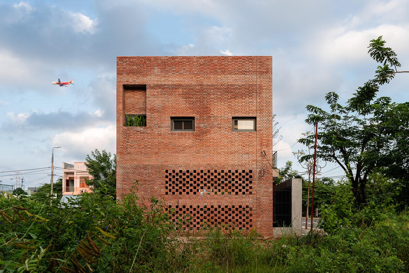 architecture Brick Facade Interior