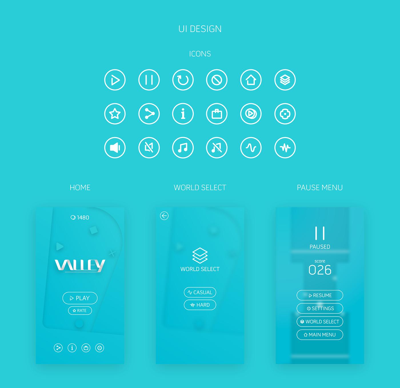 UI game vector mobile game design  vector art Icon logo