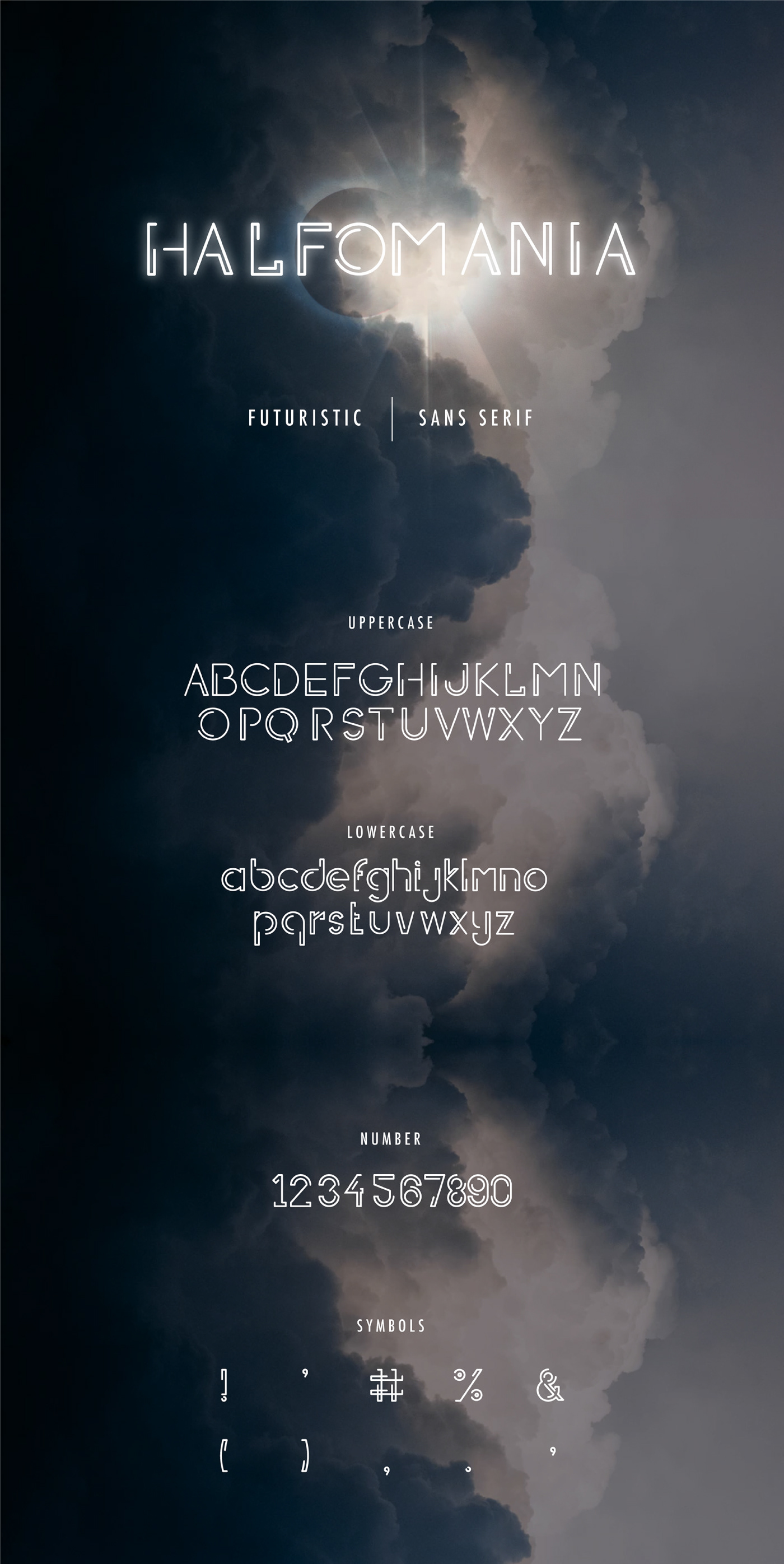 free freebie Free font type Typeface sans serif modern futuristic font Display decorative