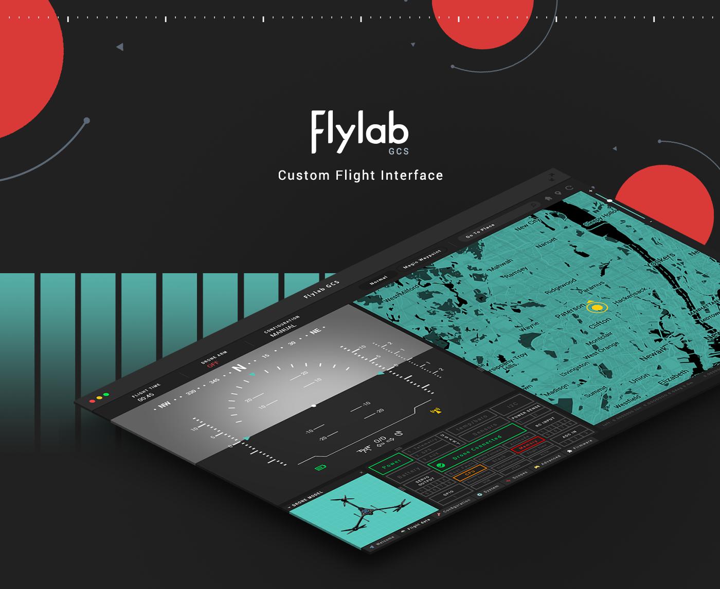 flylab gcs UI ux