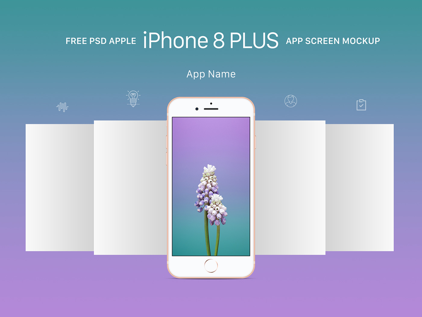 Free Apple Iphone 8 Plus App Screen Mockup Psd On Behance