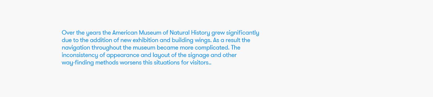 navigation ux/ui wayfinding amnh natural history New York museum app design kiosk design adobeawards