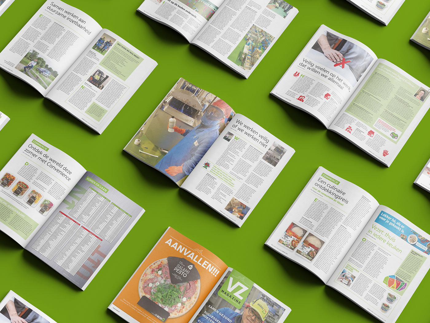 convenience employer branding Food  Fruit magazine vegetables