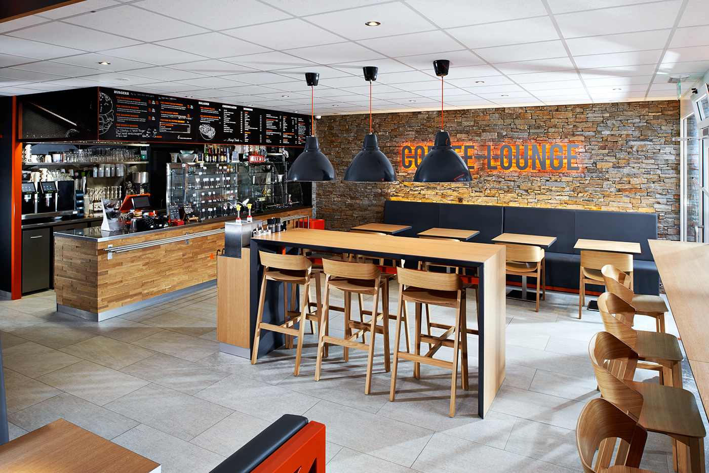 Coffee lounge on behance for Atelier cuisine lausanne