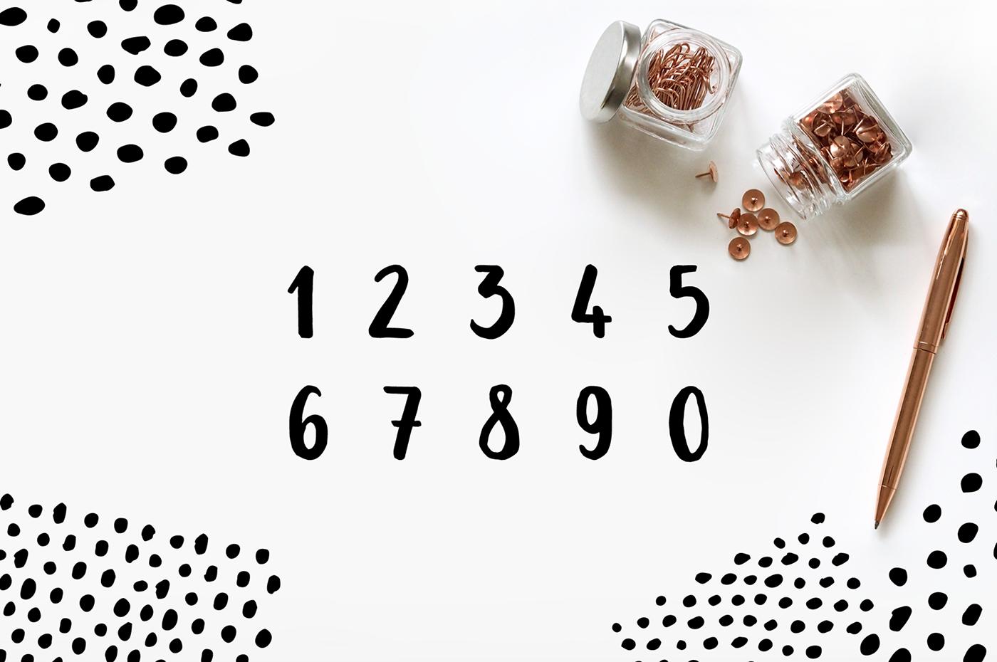 free freebie font Typeface brush bold handdrawn