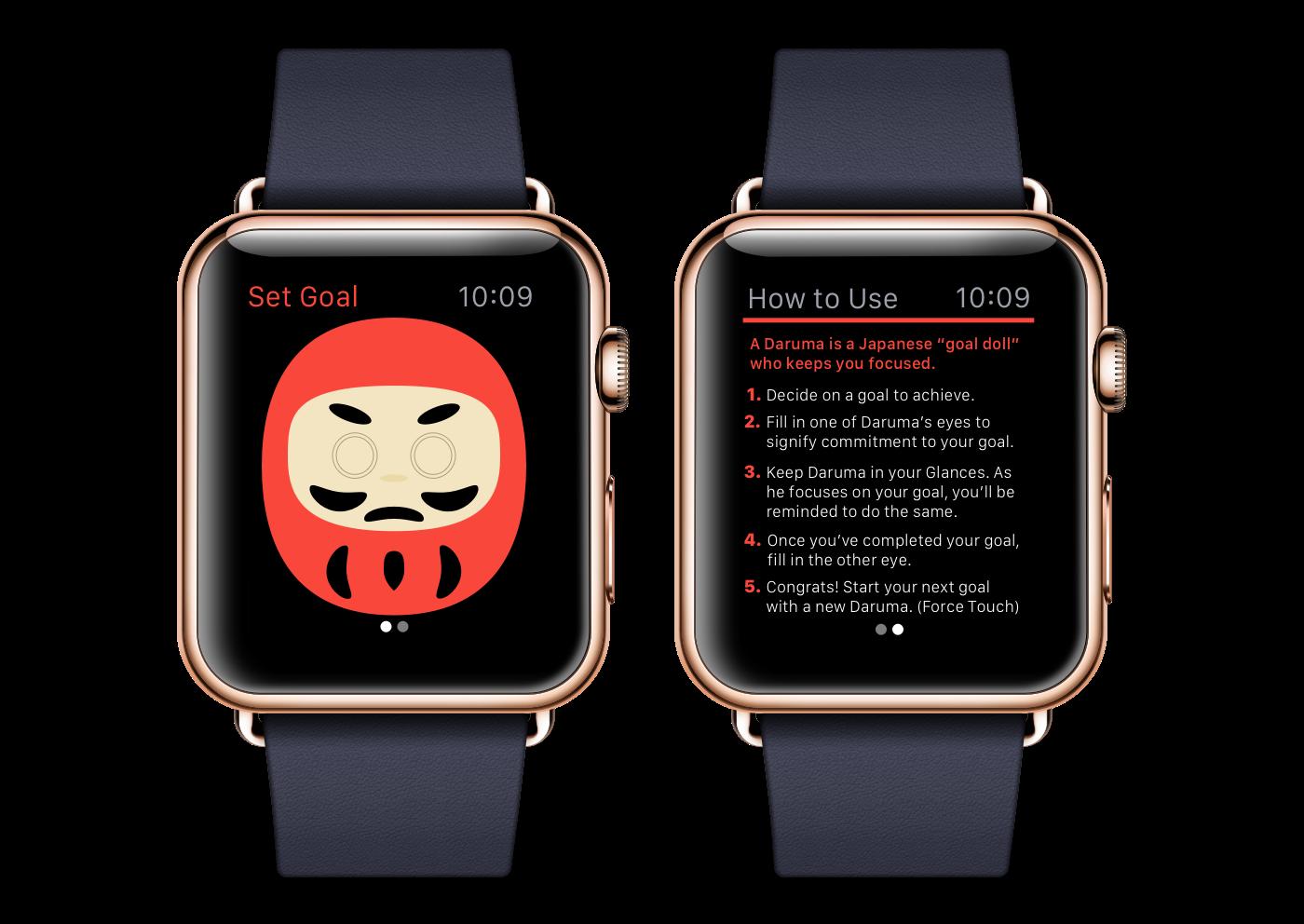 apple watch wearables Human interface design app