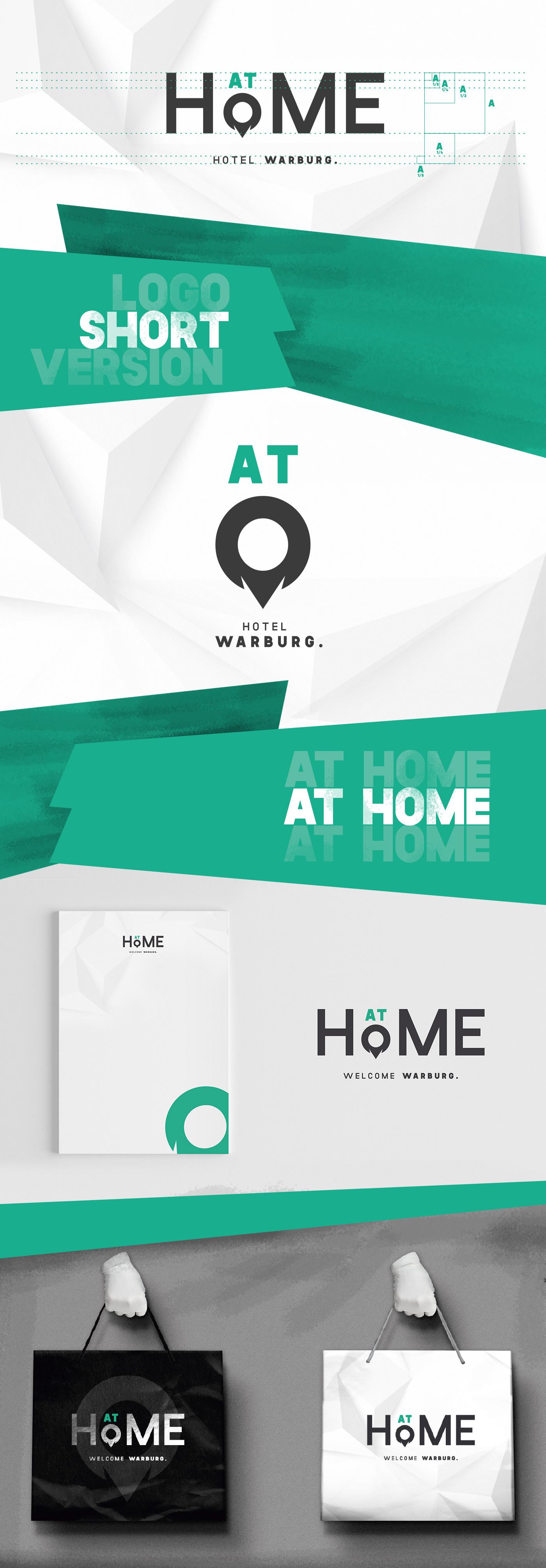hotel logo Corporate Design branding  design sleep modern Travel home luxury