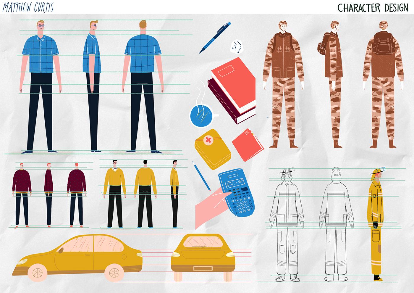animation  Cel Animation non profit texas Lead By Example motion graphics  explanatory short film guille comin Elda Broglo