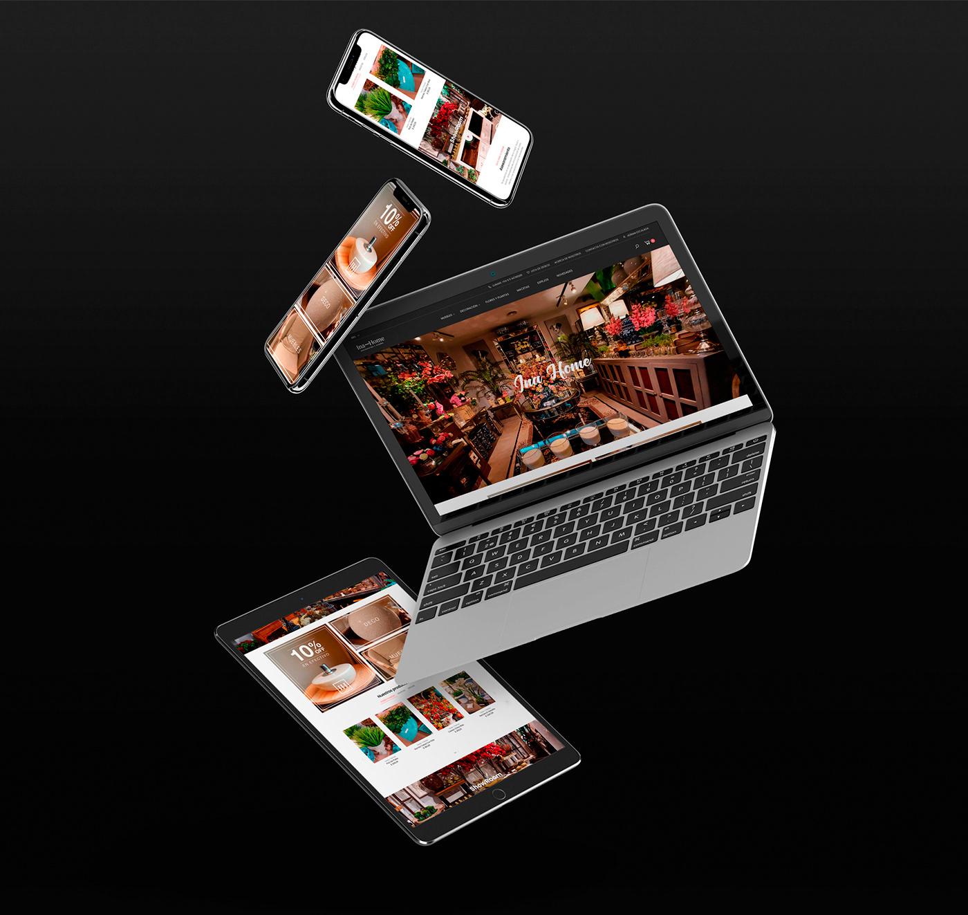 branding  contenido digital deco decoracion diseño de redes sociales Diseño web identidad Prestashop rrss deco tienda online deco