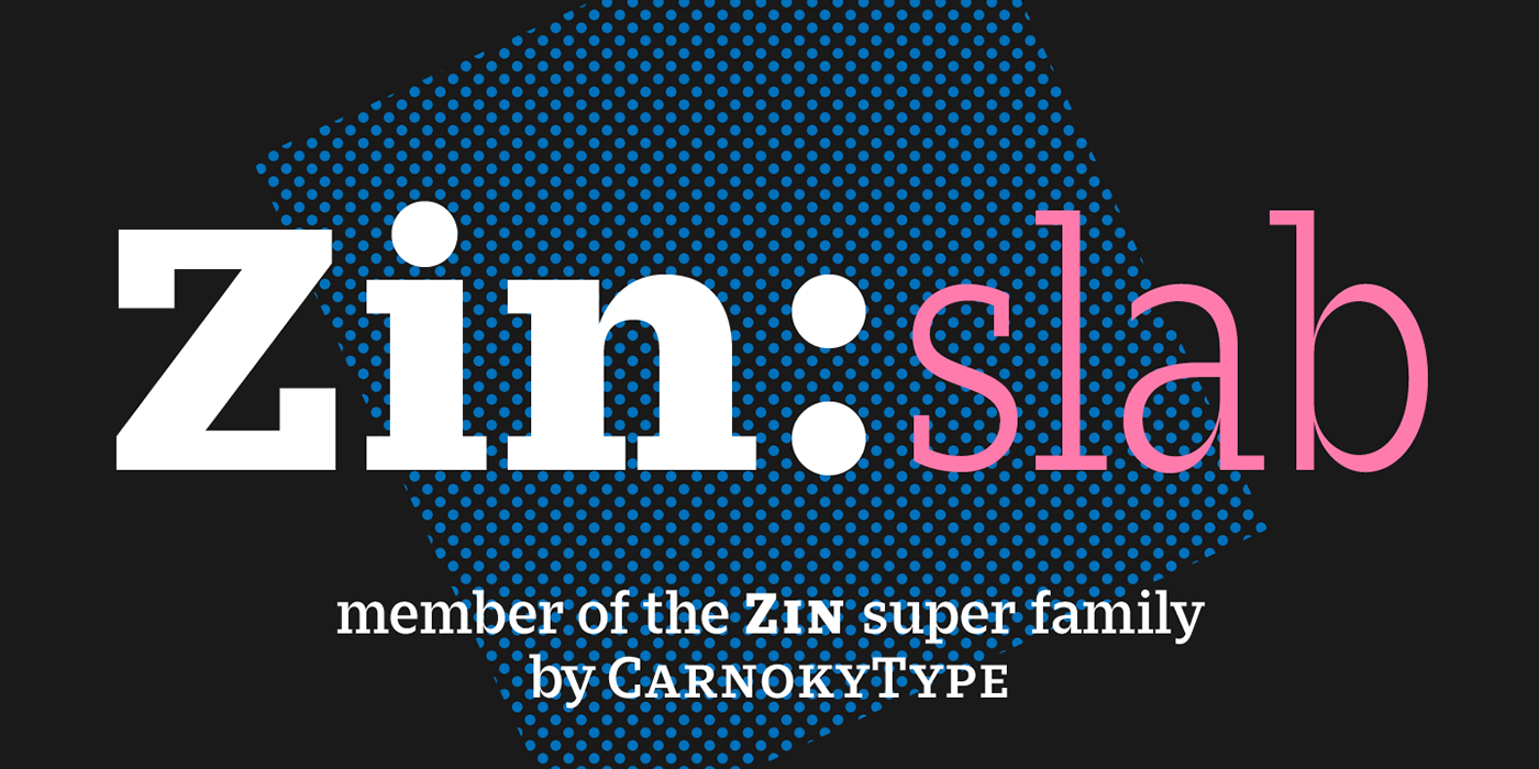CarnokyType font slab slab-serif free text Layout editorial type design magazine