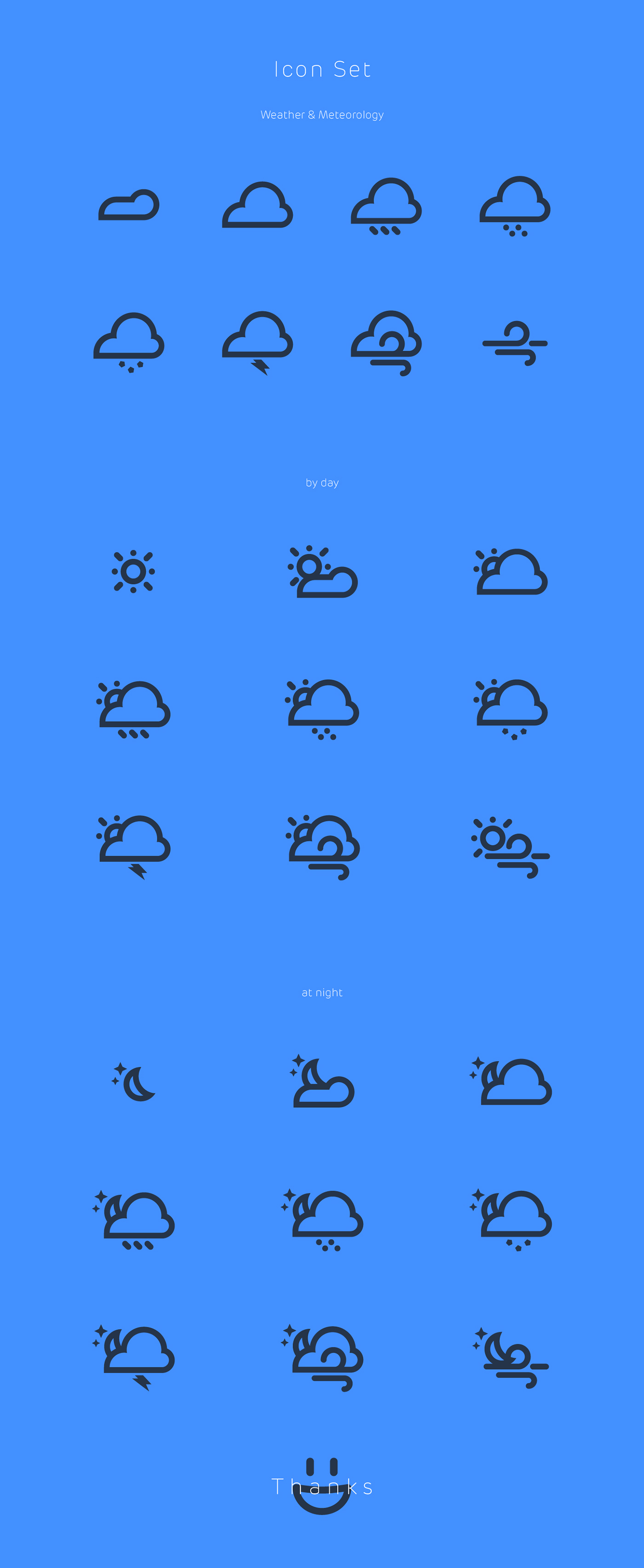 Icon pictogram Day night weather meteorology