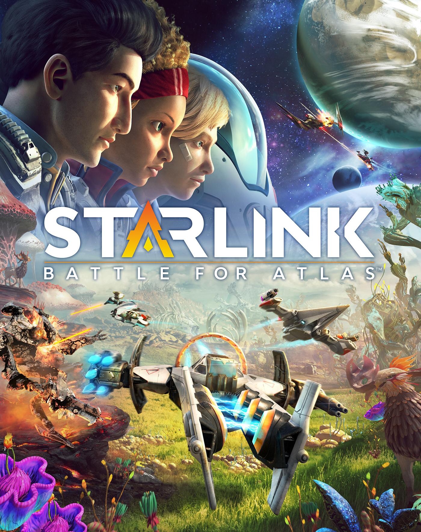 starlink sci-fi planet Space  exploration wildlife alien star ship toys