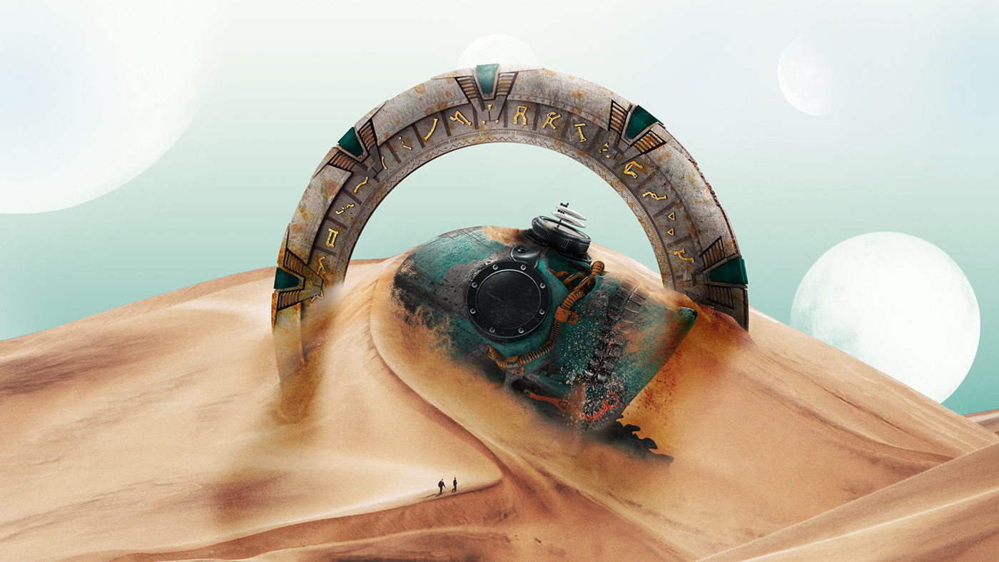ads,dead,desert,future,manipulation,moon,photomanipulation,photoshop,skull,Space