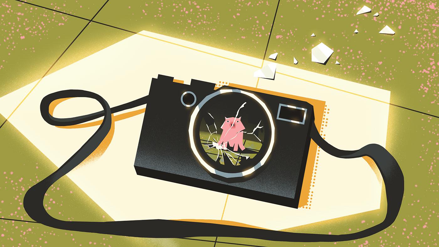 2D Animation 3d animation animation  background design MoGraph Storyboards blender Character design  ILLUSTRATION  motion design