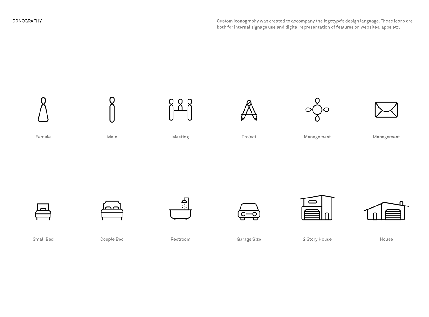 cinq brand identity branding  real estate real estate development Identity System black & white custom logotype iconography Website