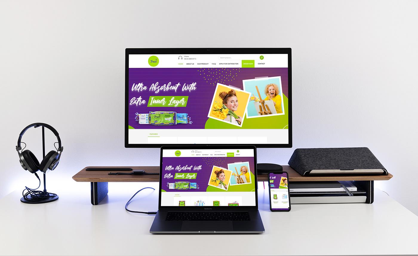 cloth website Cosmetics website Creative Design ecommerce website nabsgroup responsive website ui design web designing Website wordpress